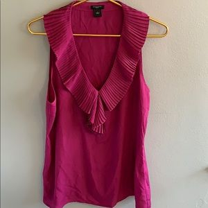 ANN TAYLOR Purple Dress Tank
